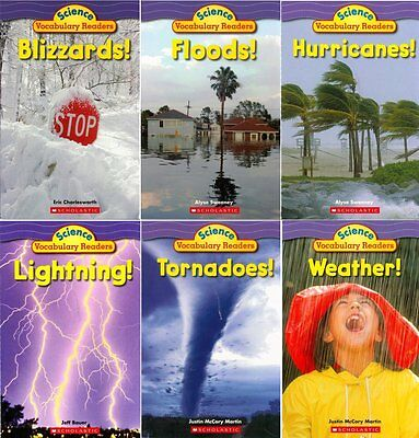 - Science Vocabulary Readers: Wild Weather Pack: Brand New 6 Book Set Nonfiction