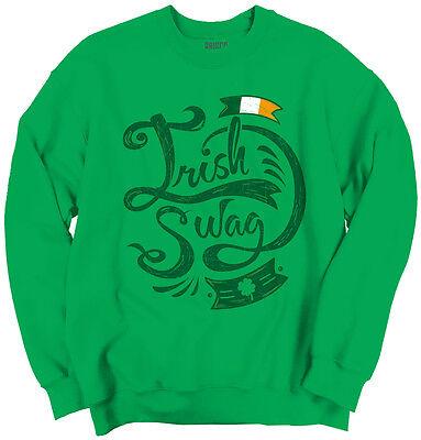 Irish Flag Swag St. Patricks Day Beer Irish Drunk Funny T Gift Sweatshirt - Patrick Swag