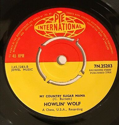 Howlin' Wolf 'Love Me Darling' Rare   Uk Pye 45' Great Copy!!