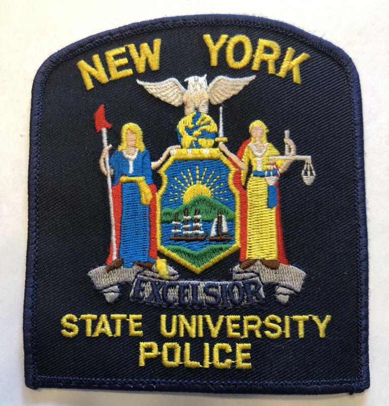 Obsolete New York State University Police Patch
