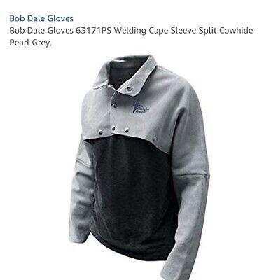 Bob Dale 63-1-71p Premium Welders Cape Sleeve Mens Sm