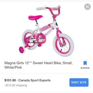 Brand new in box girls bicycle 12'' for $60 - Pick up only