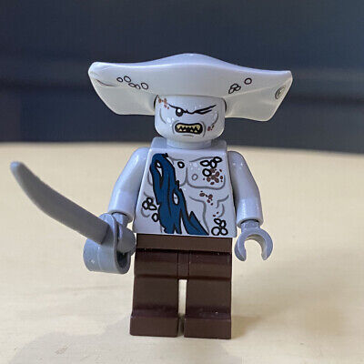 Lego Pirates Of The Caribbean Maccus Minifigure Black Pearl Set 4184 Disney