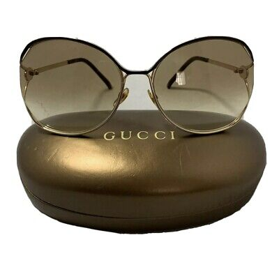 Authentic Gucci GG2846/S YC600 Oversized Women Sunglasses  63/18/115 Made Italy