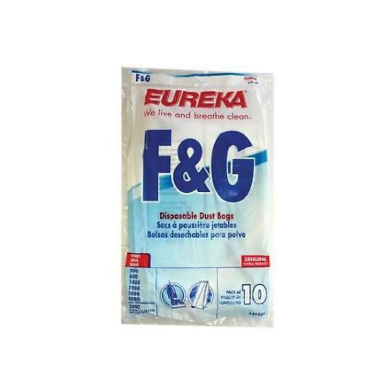 Eureka 54924B F&G Style Pack of 10 Disposable Dust Bags