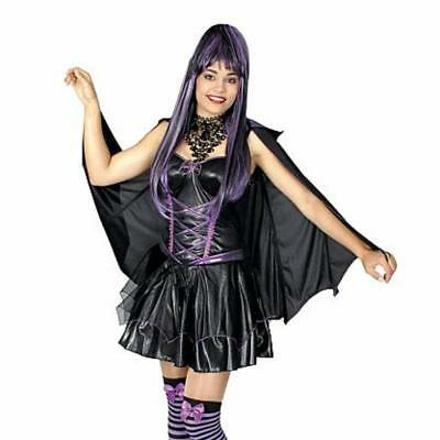 Damen Kostüm Fledermaus Halloween Kostüm Fashing Gr 40/42  ()