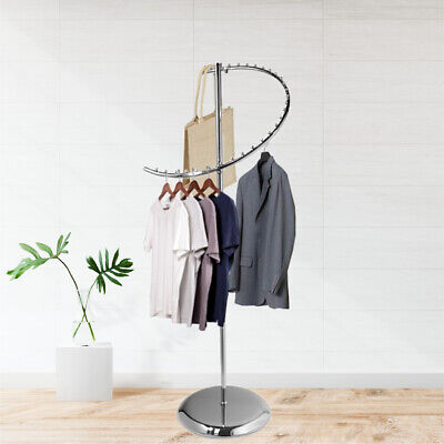 67 Inches Spiral Garment Rack With 29 Balls