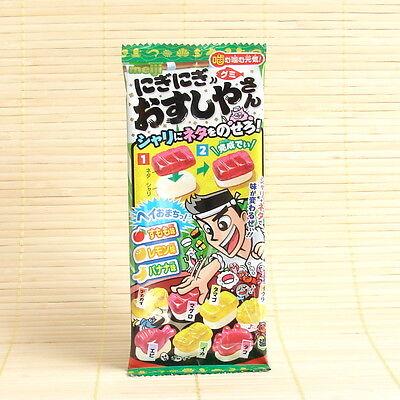 Japan MINI GUMMY SUSHI 3-Flavor gummies candy Japanese fruit Banana Lemon Peach