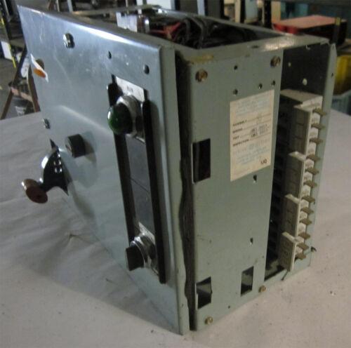 General Electric 480 V Motor Control Center (MCC), Model 8000