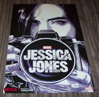 Marvel Comics JESSICA JONES NEW YORK COMIC CON EXCLUSIVE PROMO POSTER Netflix