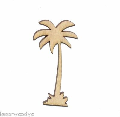 Cali Palm Tree Unfinished Wood Shape Cut Out CPT96 Crafts Lindahl Woodcrafts](Palm Tree Cut Outs)
