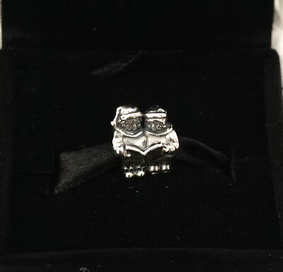 NEW Authentic PANDORA Sterling Silver Christmas Carolers Charm 791403