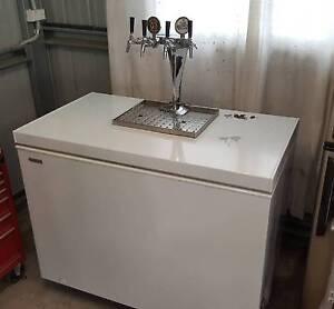 Complete 4 tap home brew fridge, with miracle box Wangi Wangi Lake Macquarie Area Preview