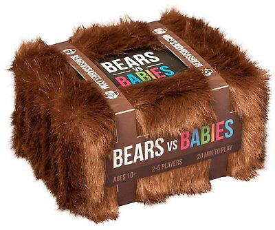 Bears vs Babies: Base pack + Expansion Pack **FREE PRIORITY SHIPPING**