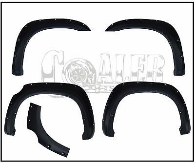 Paintable Pocket Rivet Fender Flares 2007-2013 Fits Toyota Tundra - Smooth NEW