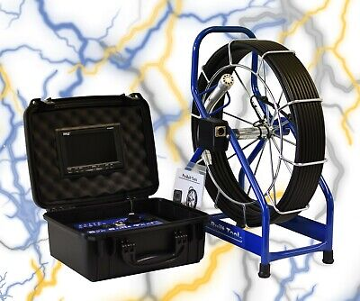 Pro-built Tools - Pb2000es 100 Sewer Inspection Color Camera With 512hz Sonde