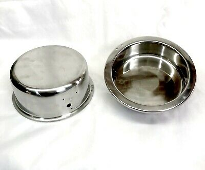 Olde Midway Replacement 8 Oz Popcorn Machine Kettle Shells Inner Outer Stainless
