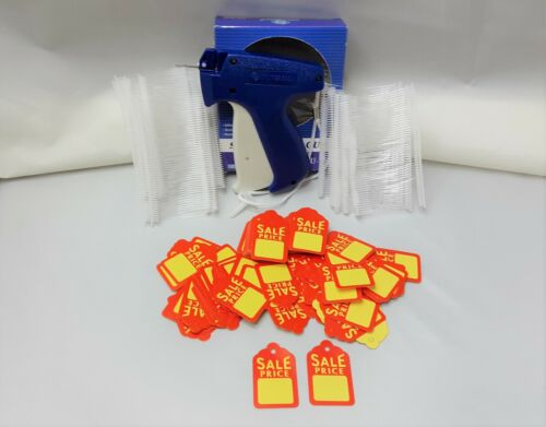 Clothing Price Tagging  Gun + 1000 Pins Fasteners + 500 Sales Price Tag Labels