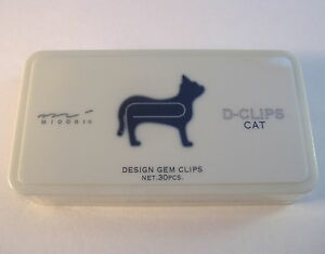 Paper-clips-Silver-Color-animals-Executive-box-of-30