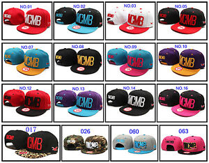 IN-box-Unisex-Fashion-YMCMB-Snapback-Hip-Hop-Hats-Rock-Cap-adjustable-Baseball