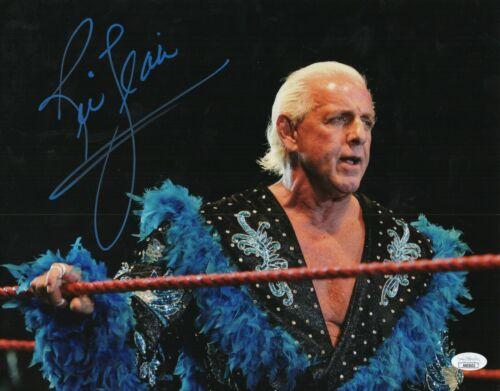Ric Flair Autograph Signed 11x14 Photo - WWF WWE WCW (JSA COA)