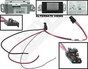 APDTY 112822 Blower Motor Resistor Speed Control Module Upgrade Kit