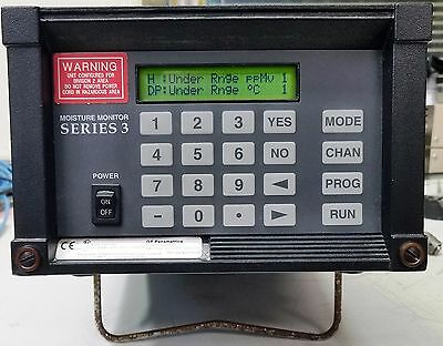 Ge Panametrics Mms3 Moisture Monitor