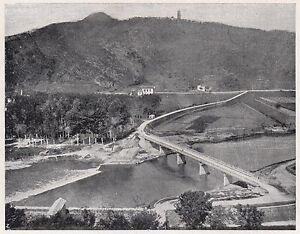 D2332-La-Valle-del-Serchio-e-la-Strada-dei-Baluardi-Stampa-1925-old-print