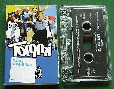 Tommi Like What Inc Maximus Remix Cassette Tape Single   Tested