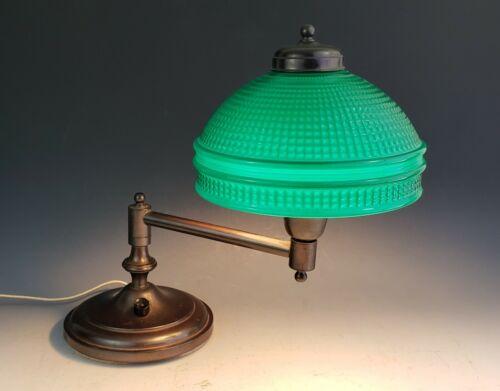 Vintage Emeralite Articulated Desk Lamp Rolltop Dentist