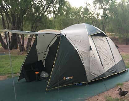 Oztrail 4V Dome Tent, 4 person