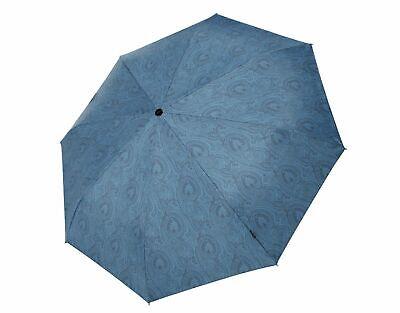 Knirps Umbrella T2 Duomatic Arabesque Petrol