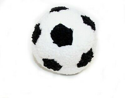 Attention Grabbing Squeaky Plush Football Dog Toy Gentle On Dogs Teeth