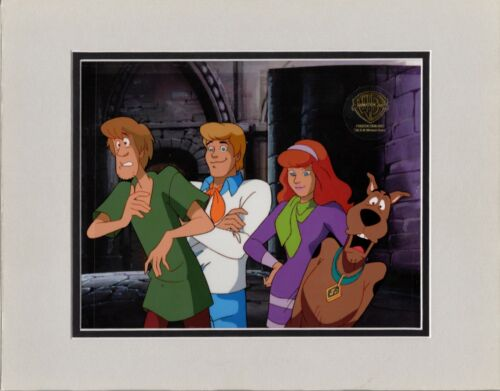 Scooby Doo Original Production Animation Art Cel Hanna Barbera 1998 8247