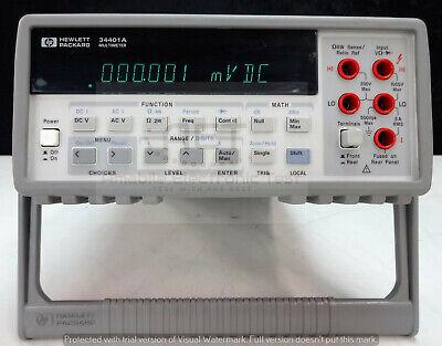 Keysight Agilent 34401a Digital Multimeter 6.5 Digit