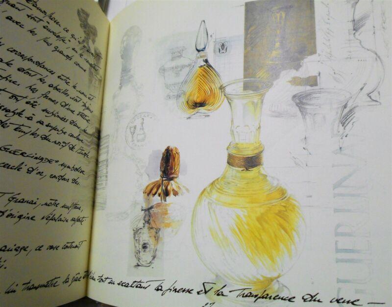 Guerlinade, a rare commemorative book by Guerlain, 1998 Guy Le Perse illustrator