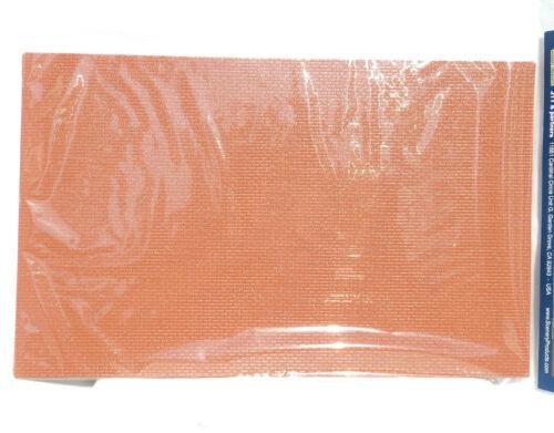 """JTT SCENERY 97424 BRICK 1:24 G-SCALE (2) 7.5""""x12"""" RED SHEETS  JTT97424"""