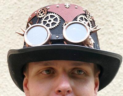 festival,steampunk,fantasy,sci-fi,zylinder,filzhut,brille,pilotenbrille,zahnrad ()