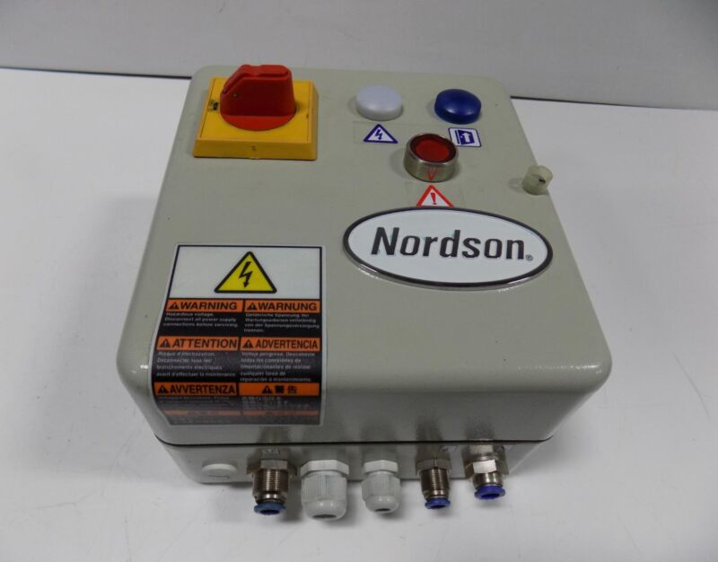 NORDSON FILLEASY II ADHESIVE HOT MELT FEED SYSTEM  1073443