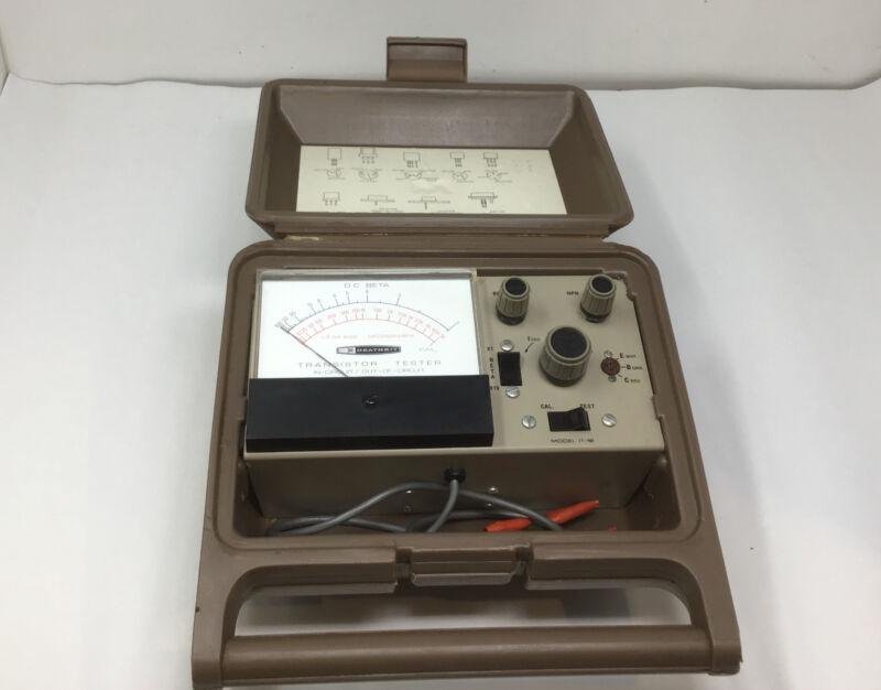 Heathkit Transistor Checker Model IT-18 Ham Amateur Radio Test Equipment