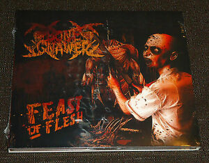 BONE-GNAWER-FEAST-OF-FLESH-10-TRACK-BRAND-NEW-SEALED-CD