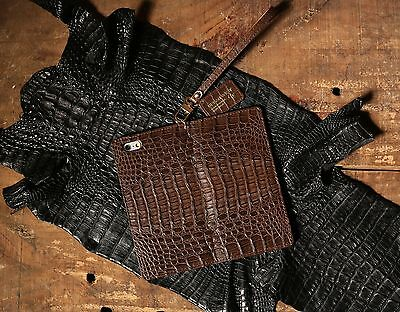 For Apple iPhone 11 Pro Max / URBANWEST Caiman Leather Handmade Cell Phone Case