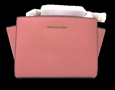 Brand New Michael Kors Selma Medium Leather Messenger/Crossb