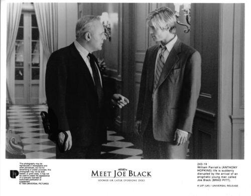 "Brad Pitt ""Meet Joe Black"" Autogramm signed 20x25 cm Bild s/w"