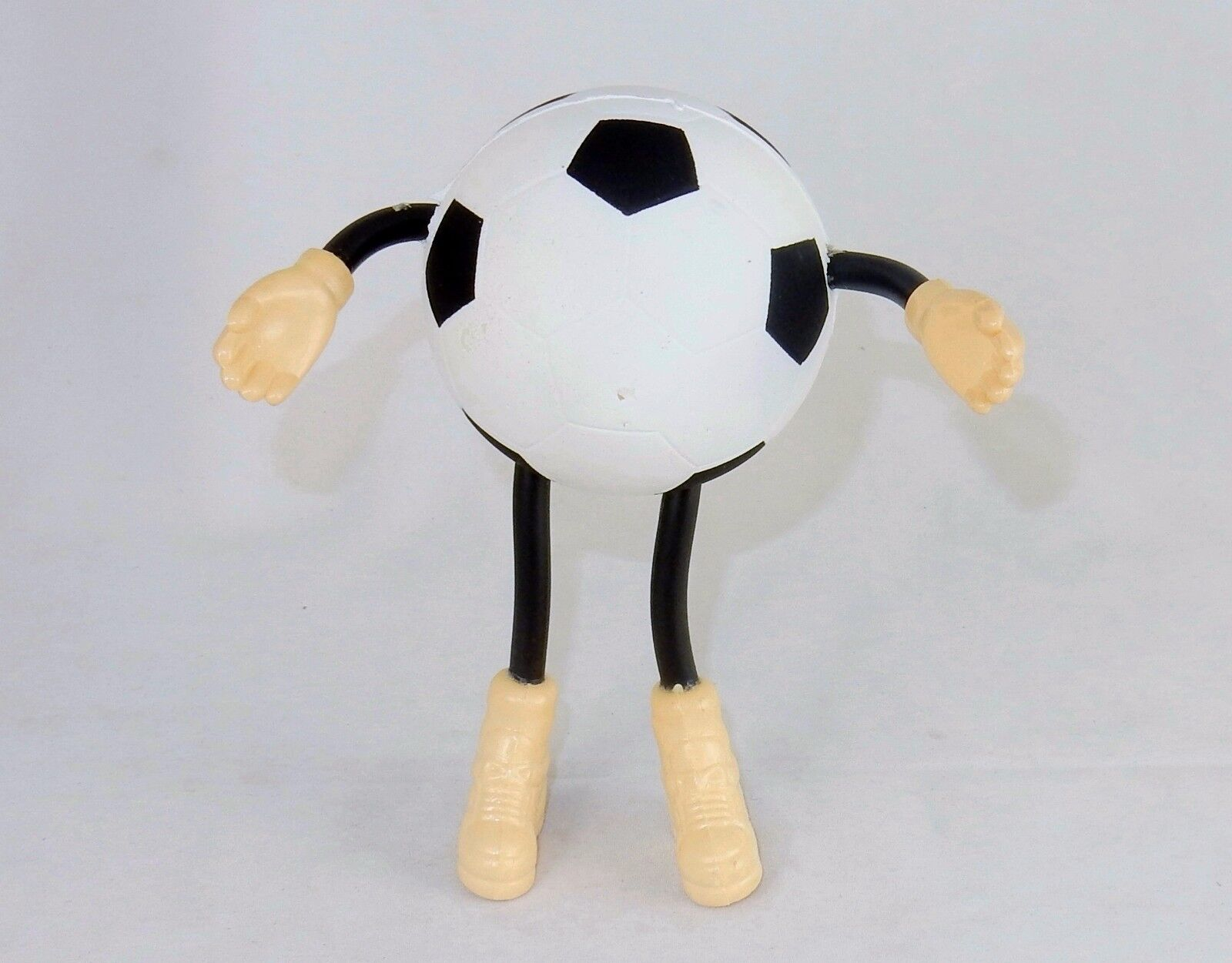 Stress Relief Ball ~ Soccer Ball Man Squeeze Ball w/Adjustable Arms/Legs #SB-995