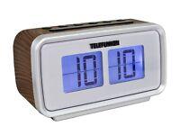 Telefunken R1003 Radiowecker UKW-Radio,Dual Alarm,Sleep-Timer,Aux-in OVP NEU
