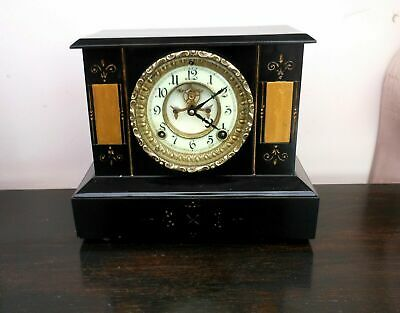 Fabulous Ansonia antique mantle clock refurbished.