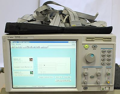 Hp Agilent 16702b Logic Analysis System W 16753a 16717a Cables
