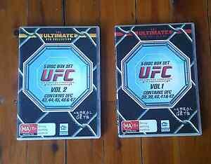 UFC Box Set DVDs North Sydney North Sydney Area Preview
