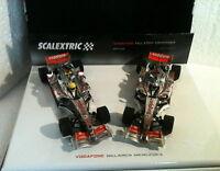 Qq 6325 Scalextric Pack Vodafone Mc Laren Mercedes Mp4/22 N1 Alonso N2 Hamilton - vodafone - ebay.it